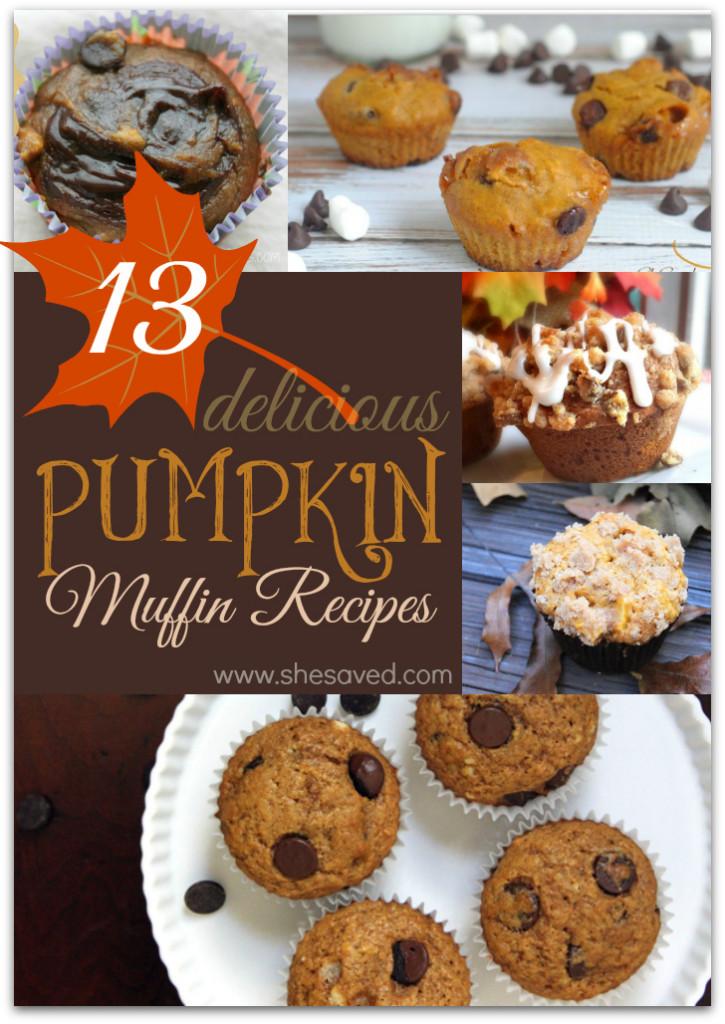 Pumpkin Muffin Recipes