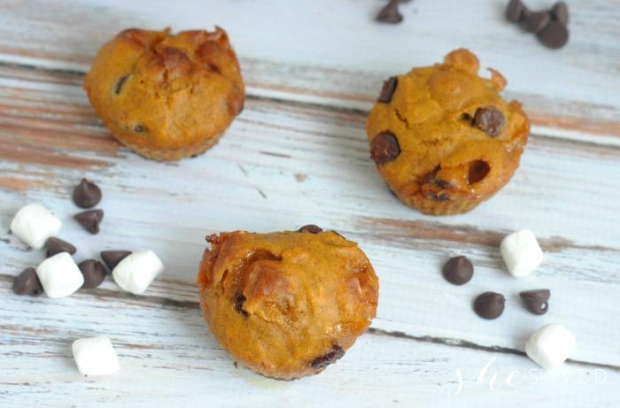 Pumpkin Smore Muffins