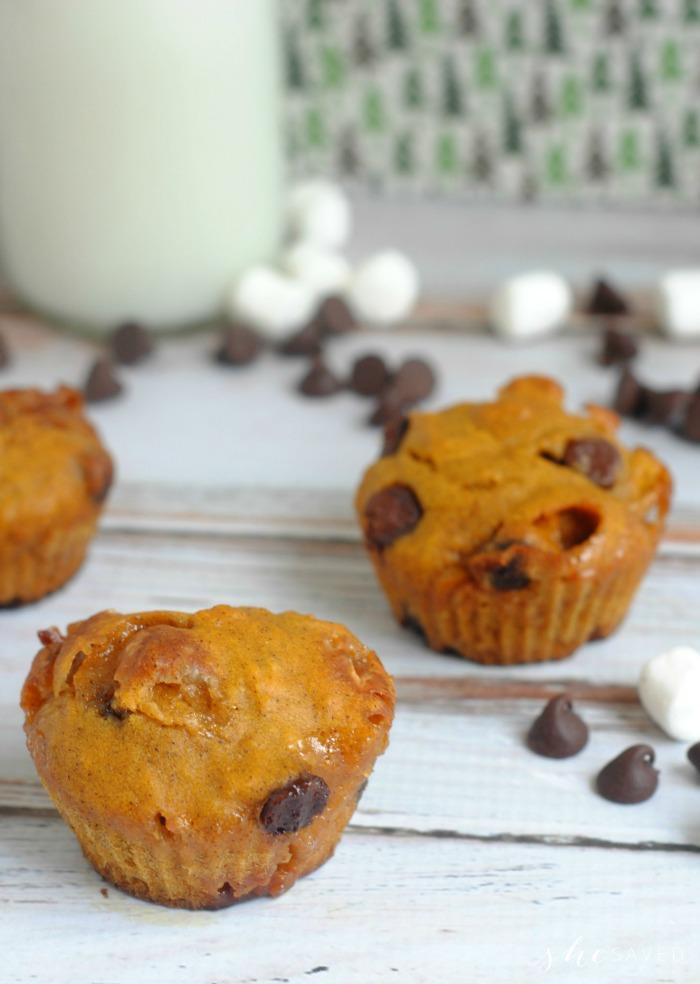 Pumpkin Smore Muffins recipe