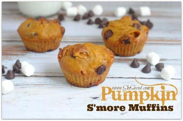 Pumpkin S'more Muffins