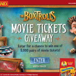The Boxtrolls Movie Ticket Giveaway