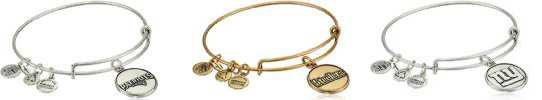 Alex and Ani NFL Bracelets