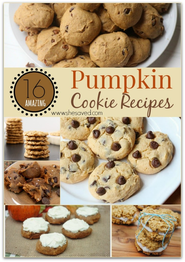 Amazing Pumpkin Cookies