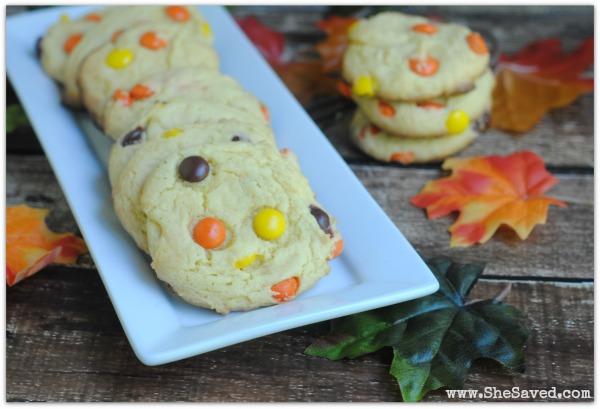 Fall Cake Mix Cookies 2
