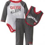 Calvin Klein Baby Boy Bodysuit Set