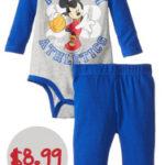 Disney Newborn Bodysuit Set