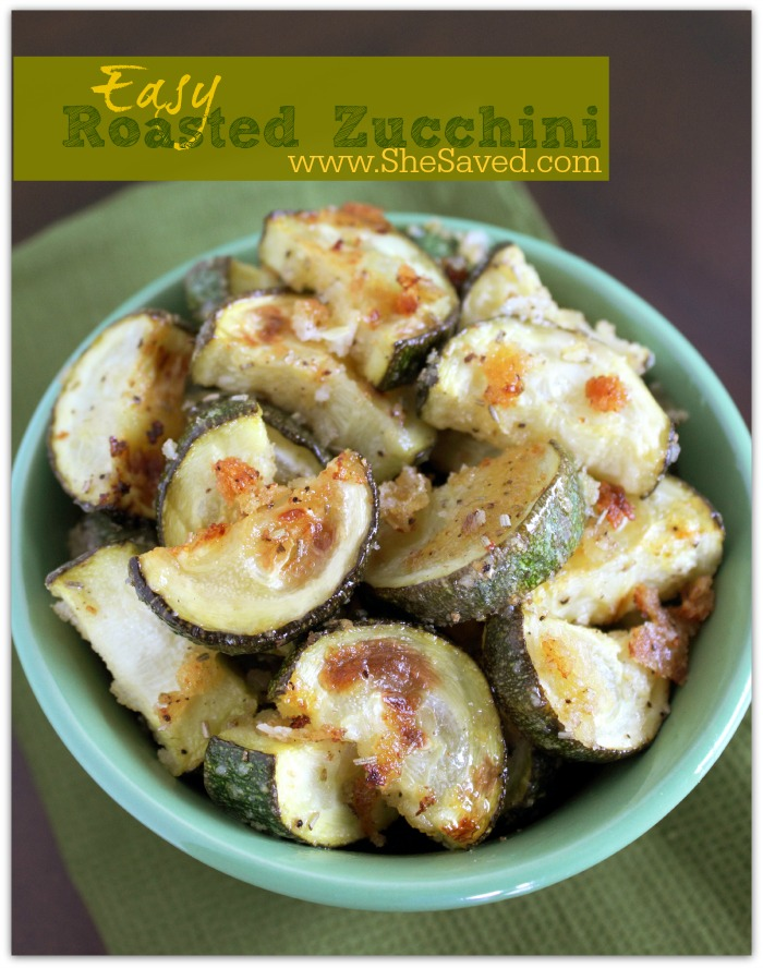 Easy Roasted Zucchini Recipe