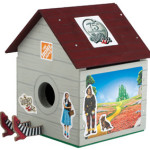 FREE Wizard of Oz Birdhouse
