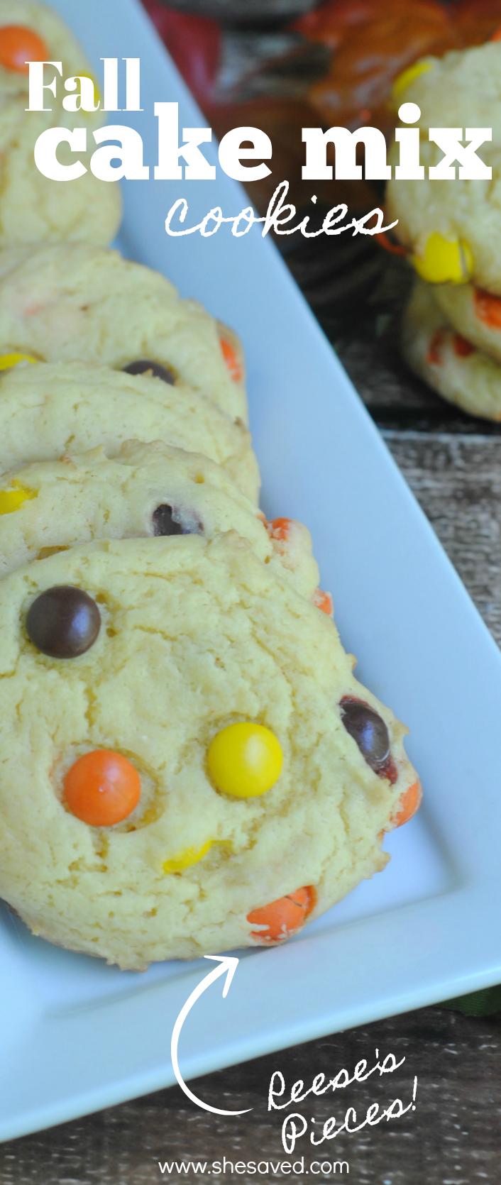 Fall Cake Mix Cookies Recipe