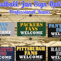Football Team Signs For $7.99