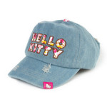 Hello Kitty Denim Baseball Cap