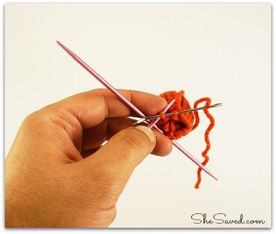 Mini Crochet Pumpkin step 3