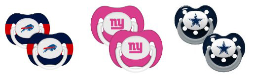NFL Baby Pacifiers