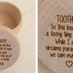 Personalized Tooth Fairy Boxes