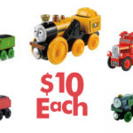 Thomas Wooden Railway Cars For $10 Shipped
