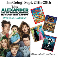 I am Headed to LA! #VeryBadDayEvent & #DisneyInHomeEvent