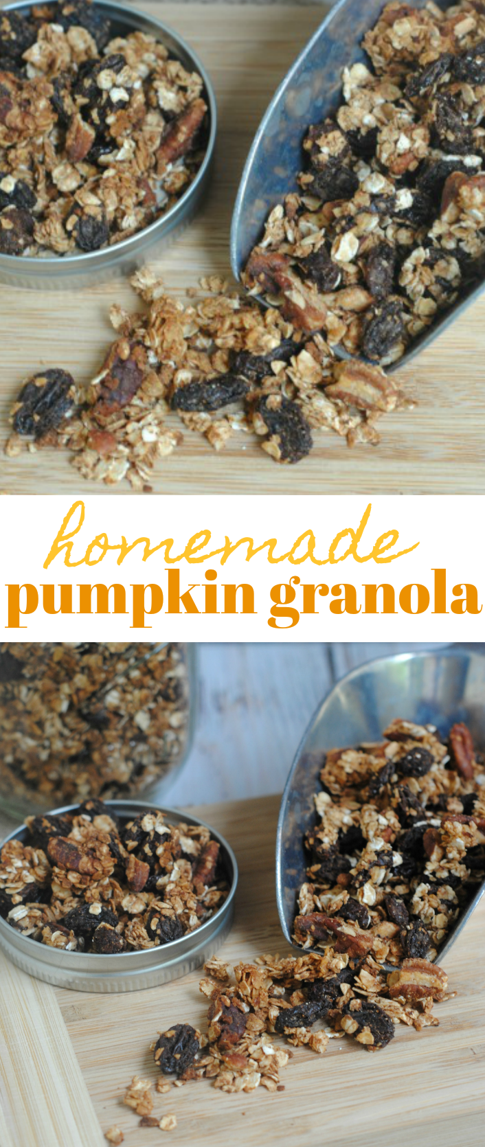 homemade pumpkin granola recipe