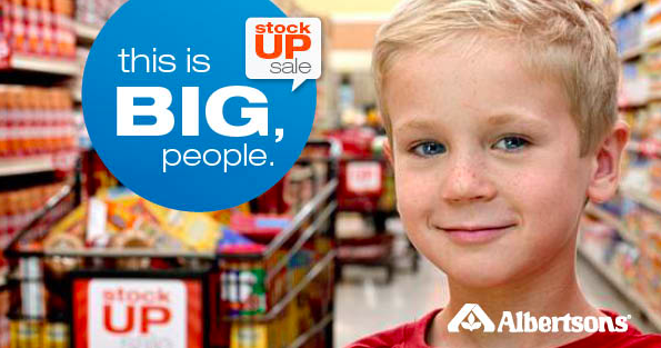 Albertsons Stock Up Sale Going on NOW! #StockUpSale
