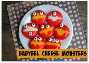 Babybel Cheese Monsters 