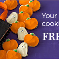 Buttercream Halloween Cookies For $19.99 + FREE Tote