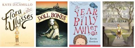 Children's Books 2014 Newbery Medal Winners