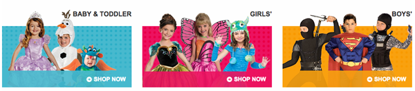 Costume Express 25% Off Flash Sale Today