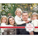 Custom Photo 5X7 Holiday Cards