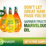 FREE Garnier Marvelous Oil Sample