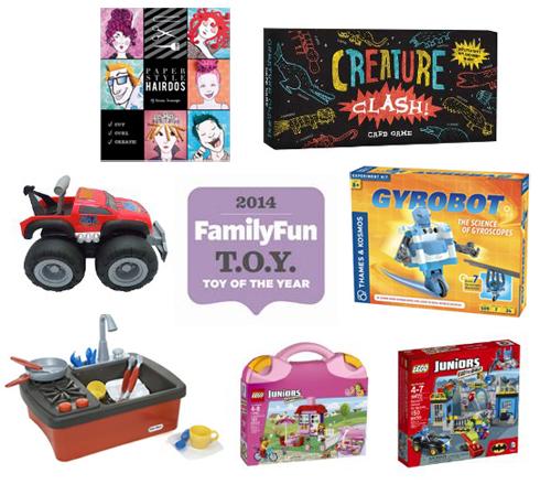 FamilyFun Toy of the Year Award Winners