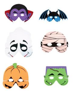 Foam Halloween Masks