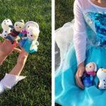 Frozen Inspired Finger Puppets