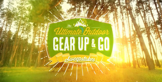 Gear Up & Go Sweepstakes