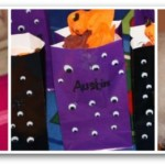 Halloween Craft Collage