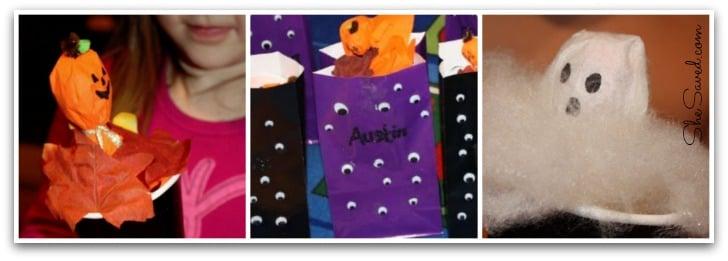 Halloween Craft Collage