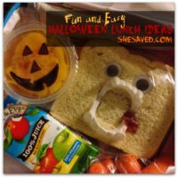 Halloween Lunch Ideas for Kids