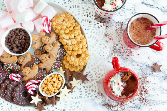 Hot Chocolate Bar Topping Ideas