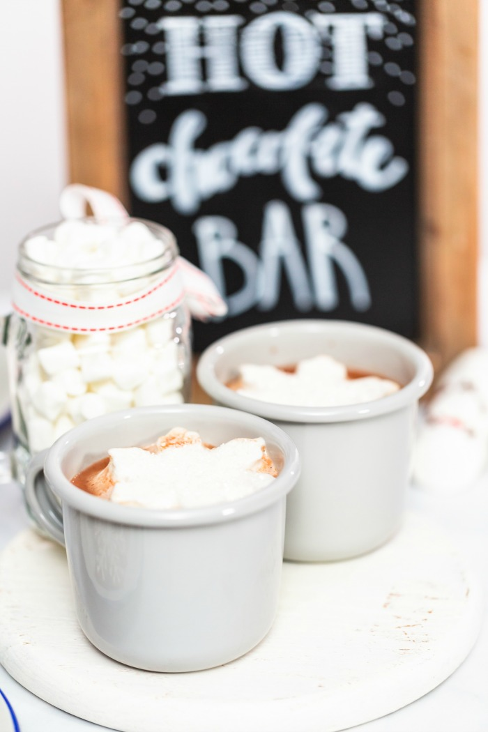 Set up your own Hot Chocolate Bar