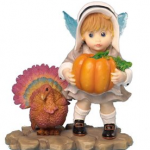 Kitchen Fairies Thanksgiving Pilgrim