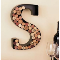 Metal Monogram Wine Cork Holder As Low As $15.95 Shipped