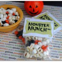 Monster Munch FREE Printables