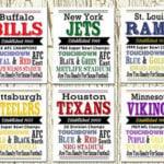 NFL Team Prints