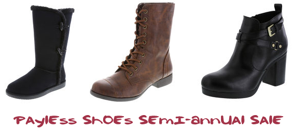 Payless Shoes Semi-Annual Sale
