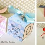 Personalized Block Ornaments