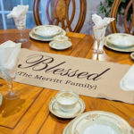 Personalized Table Runners