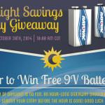 Rayovac Daylight Savings Giveaway