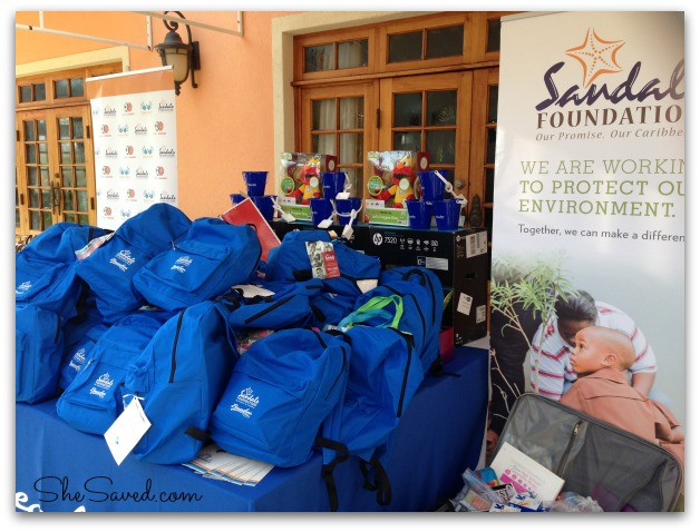 Sandals Foundation Donations