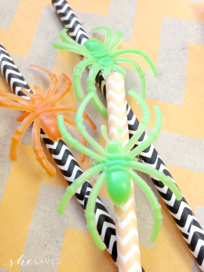 How to make Spider Straws