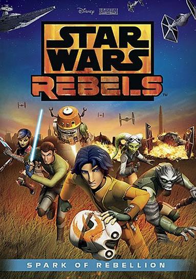 Star Wars Rebels dvd