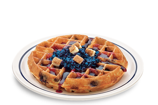 IHOP New Menu Item: Waffullicious Waffles