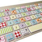 Washi Style Keyboard Skin